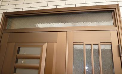 玄関ドアの取り換え事例after