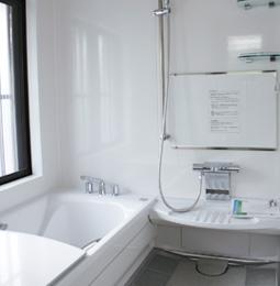 浴室乾燥機付きのシステムバス