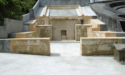 お墓改修工事の事例after