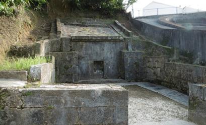 お墓改修工事の事例before