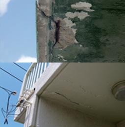 外壁の修繕・改修