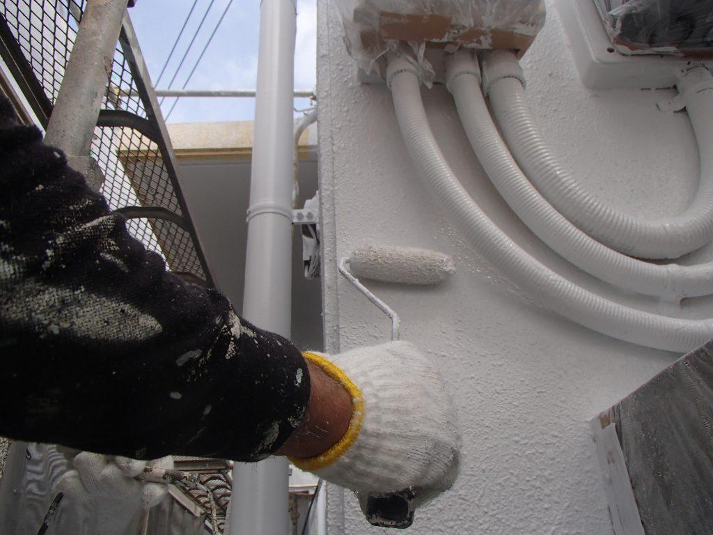 海風から建物を守る!改修塗装工事