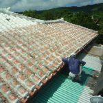 赤瓦屋根にも最適!瓦防水工事