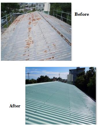 トタン屋根雨漏り原因について。