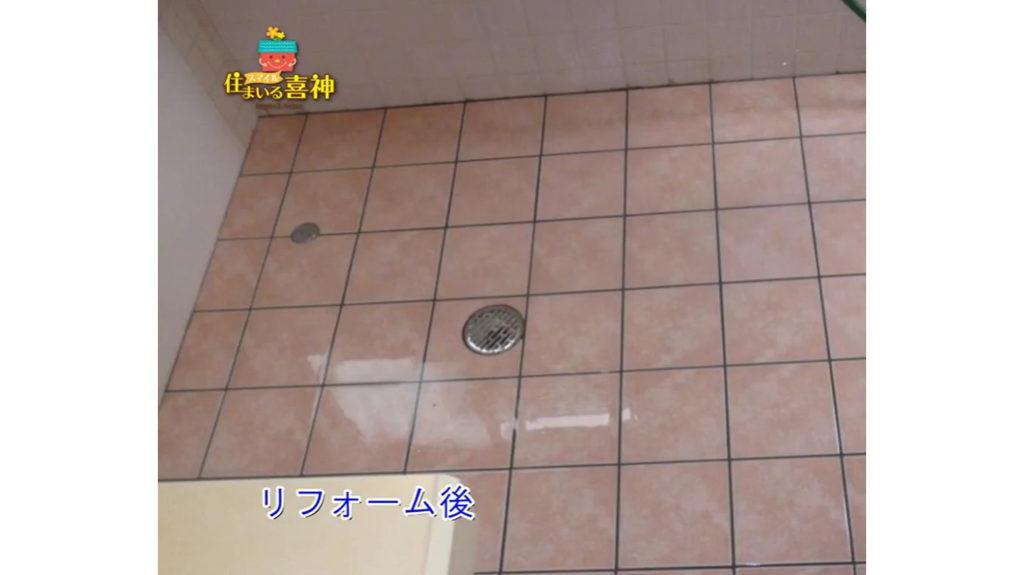 楽に跨げるように  浴槽段差調整