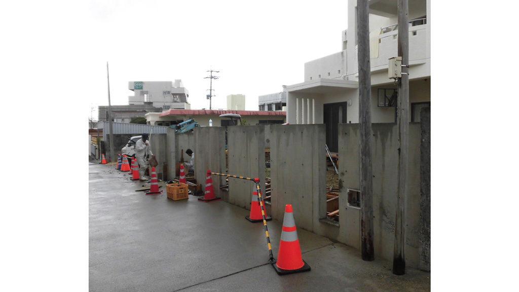 倉庫を広場と駐車場に!エクステリア リフォーム