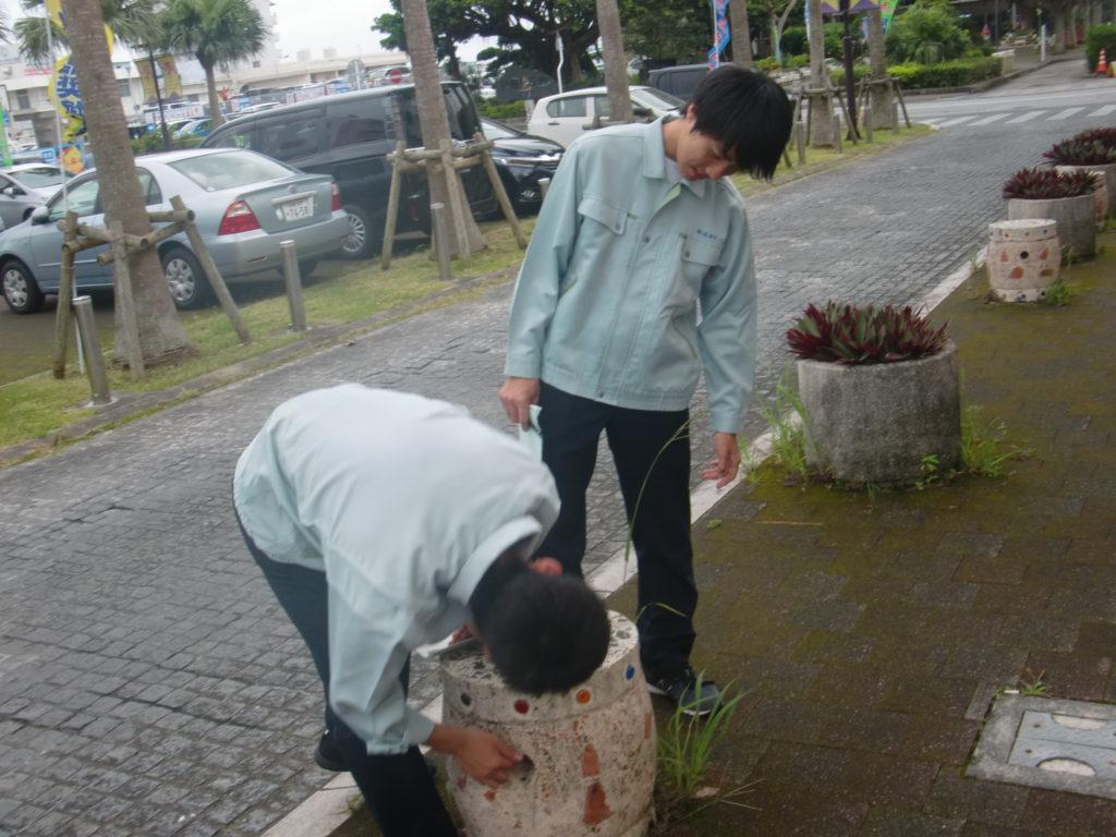 沖縄県立美里工業高等学校インターンシップ2019