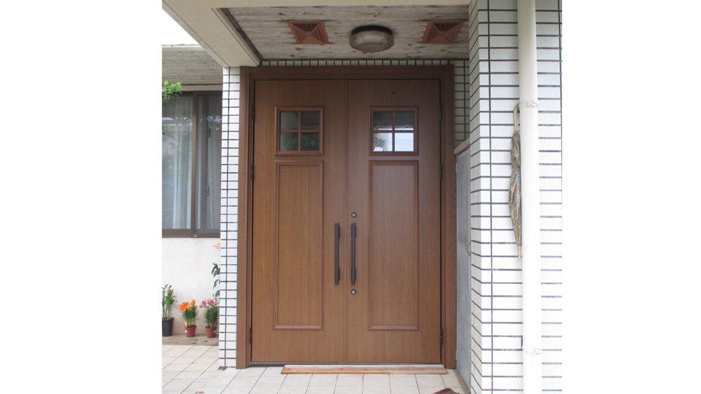 リフォームで工期短縮!玄関ドア取替え