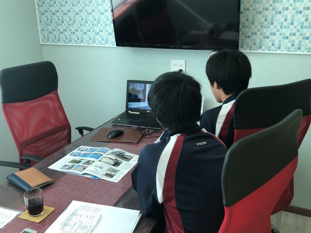 職場体験!うるま市立与勝丘中学校