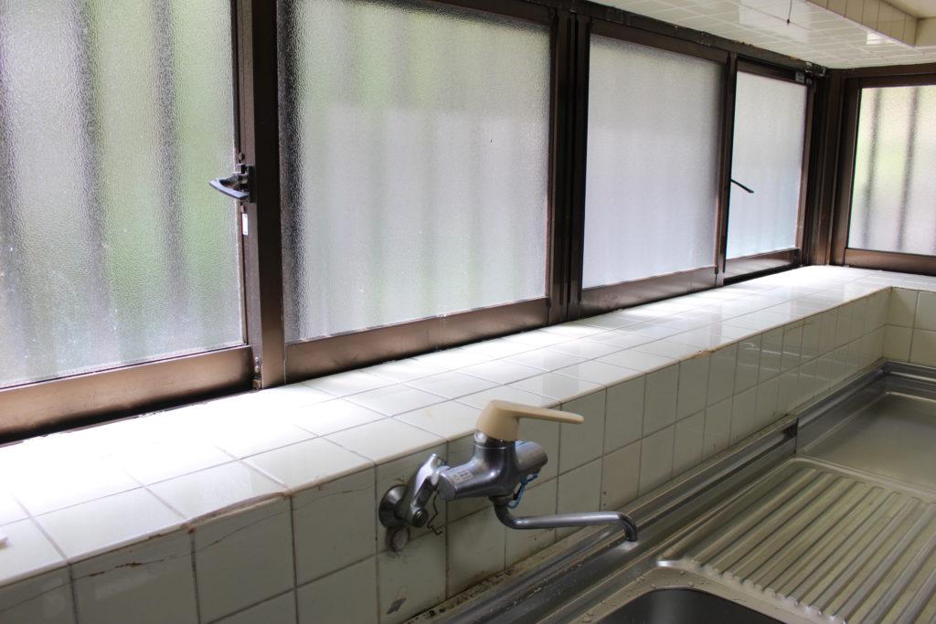 リフォームキッチンで雨漏りも解消!