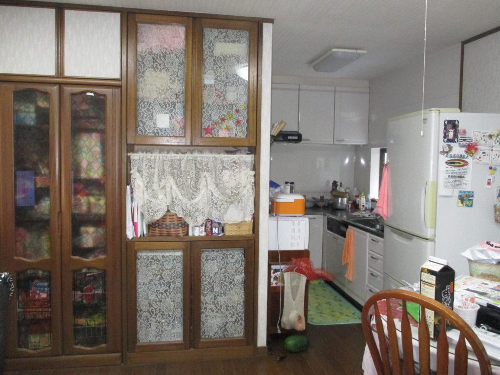 リフォームでキッチンに空間を