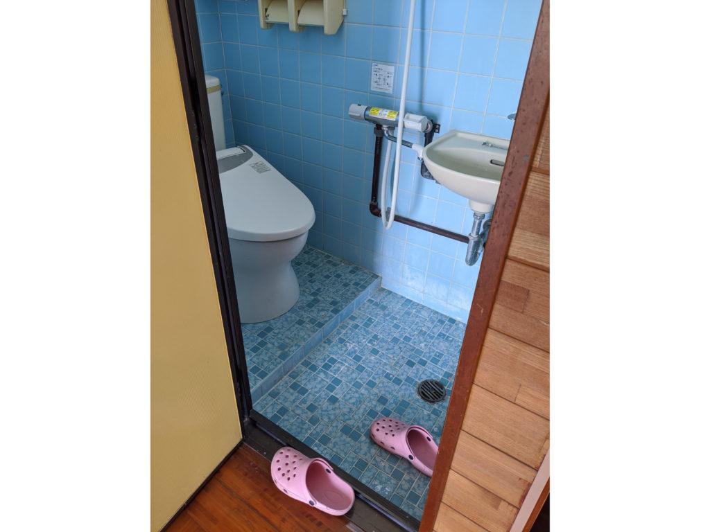 リフォームでバリアフリーのトイレに